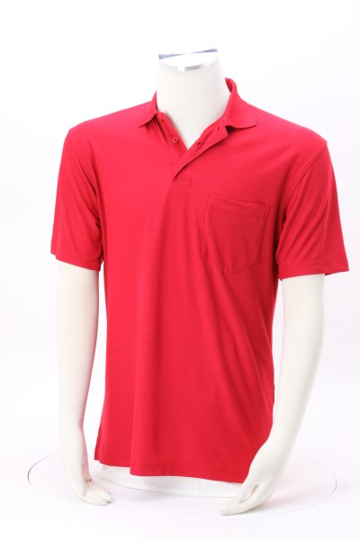Industrial Performance Pocket Polo - Men's 360 View