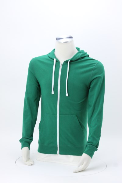 Fruit of the Loom Sofspun Jersey Full-Zip Hoodie - Embroidered 360 View