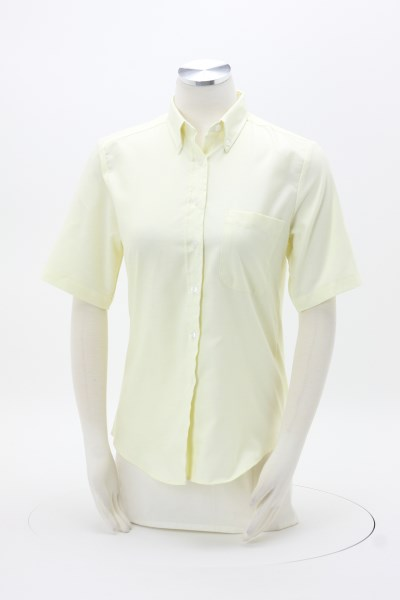Easy Care Short Sleeve Oxford Shirt - Ladies' 360 View