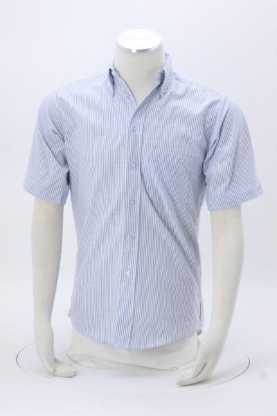 Easy Care Short Sleeve Oxford Shirt - Men's 360 View