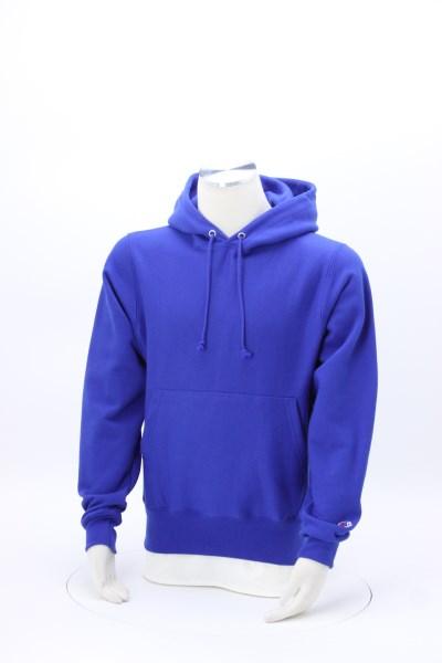 Champion Reverse Weave Hooded Sweatshirt - Screen 360 View