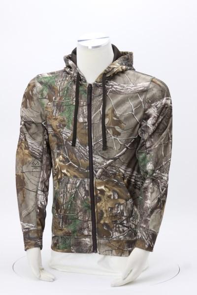 Trophy Full-Zip Tech Sweatshirt - Camouflage 360 View