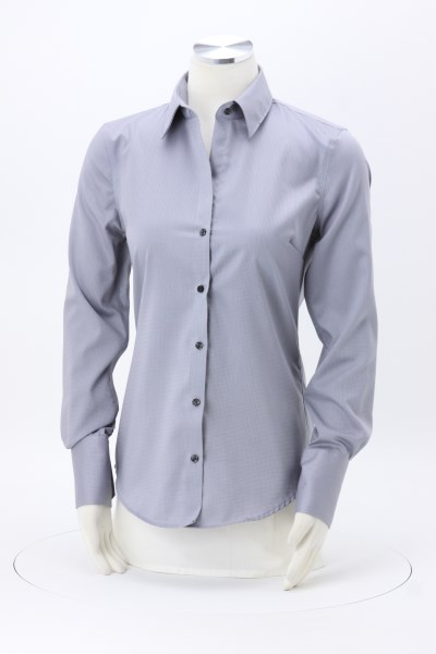 Calvin Klein Non Iron Dobby Shirt - Ladies' 360 View