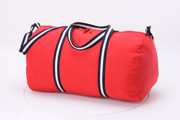"Cotton 22"" Weekender Duffel - Embroidered 360 View"