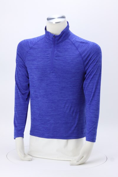 Space-Dyed 1/4-Zip Performance Pullover - Men's - Embroidered 360 View