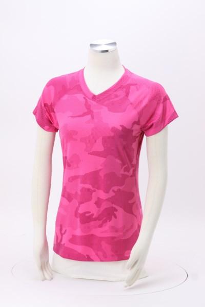 Champion Double Dry Performance T-Shirt - Ladies' - Camo 360 View