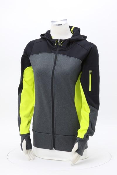 Tech Fleece Colorblock Hooded Jacket - Ladies' 360 View