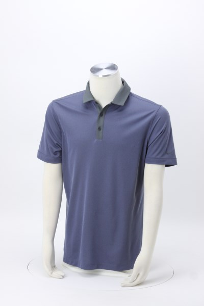 Nike Performance Iconic Heather Pique Polo 360 View