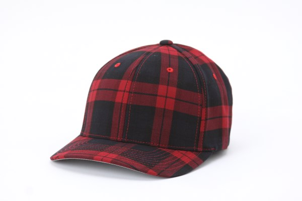 Flexfit Tartan Plaid Cap 360 View