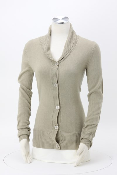 Ava Shawl Collar Cardigan 360 View