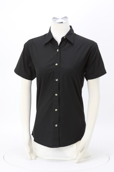 Apprentice Teflon Treated Short Sleeve Twill Shirt - Ladies' 360 View