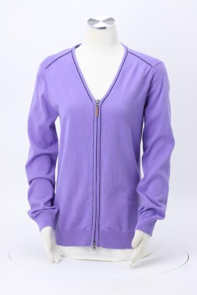 Manchester Full-Zip Cardigan Sweater - Ladies' 360 View