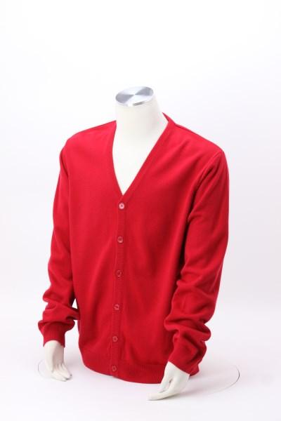 Pilbloc V-Neck Button Down Cardigan Sweater - Men's 360 View