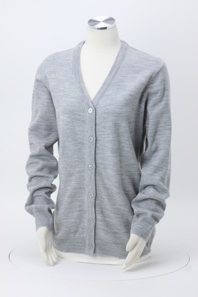Pilbloc V-Neck Button Down Cardigan Sweater - Ladies' 360 View
