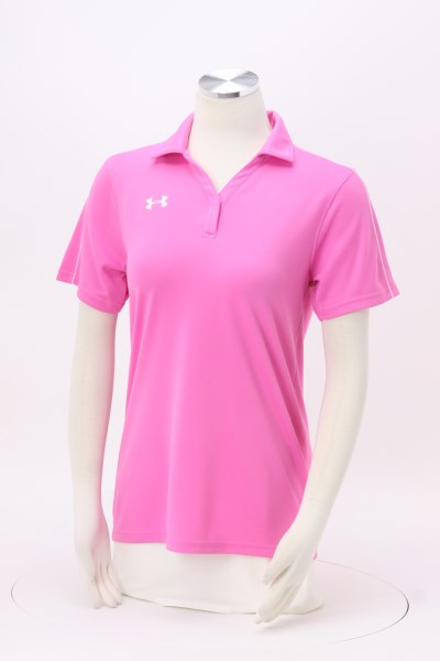 Under Armour Tech Polo - Ladies' - Embroidered 360 View