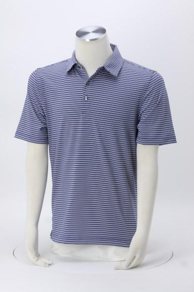 Cutter & Buck Division Stripe Polo 360 View