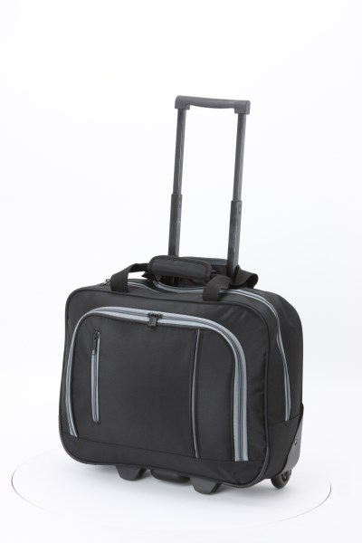 Overnight Laptop Trolley Bag 360 View
