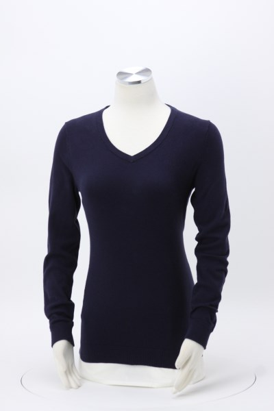 Cutter & Buck Lakemont V-Neck Sweater - Ladies' 360 View