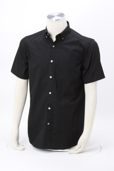 Avesta Stain Resistant Short Sleeve Twill Shirt - Men's 360 View