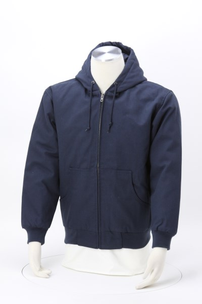 Duck Canvas Hooded Work Jacket 360 View