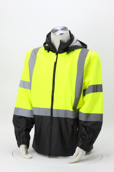 High Visibility Safety Windbreaker 360 View