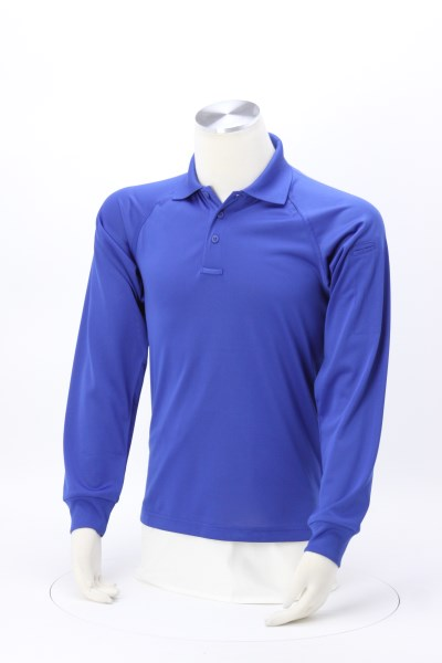 Snag Proof Tactical Long Sleeve Polo 360 View