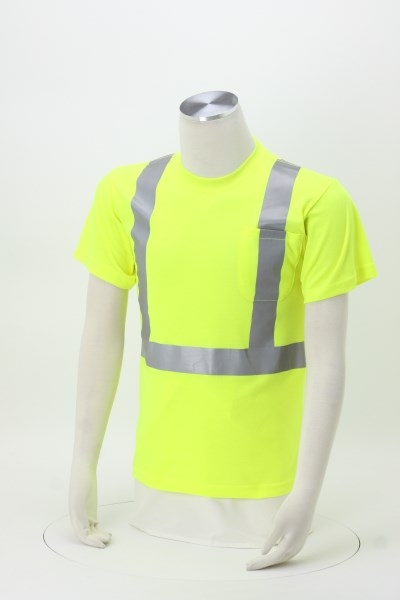 High Visibility Short Sleeve Safety T-Shirt 360 View