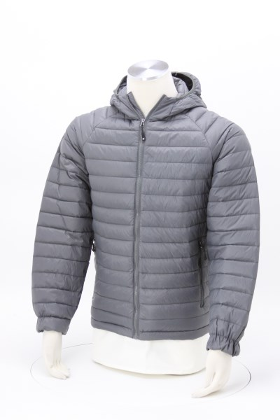 Weatherproof 32 Degrees Hooded Packable Jacket - Men's 360 View
