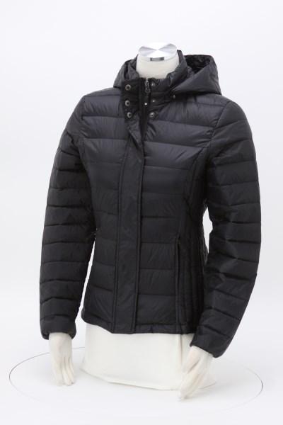 Weatherproof 32 Degrees Hooded Packable Jacket - Ladies' 360 View