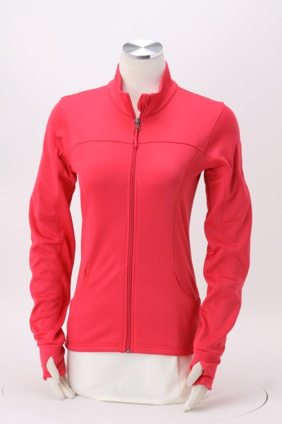 Independent Trading Co. Poly-Tech Track Jacket - Ladies' 360 View