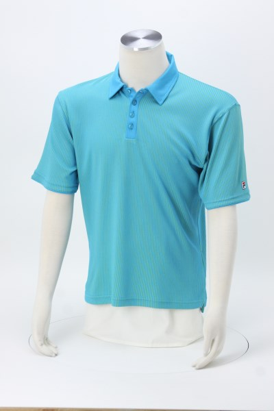 FILA Montpellier Striped Polo - Men's 360 View