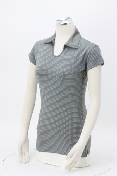 FILA New Orleans Striped Key-Hole Polo - Ladies' 360 View