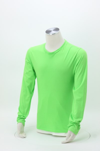 Team Favorite 4.5 oz. Long Sleeve T-Shirt - Men's - Colors - Screen 360 View