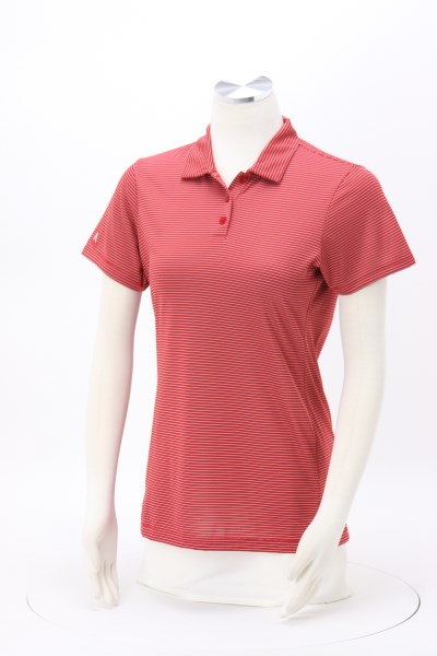 Antigua Quest Mini Stripe Polo - Ladies' 360 View