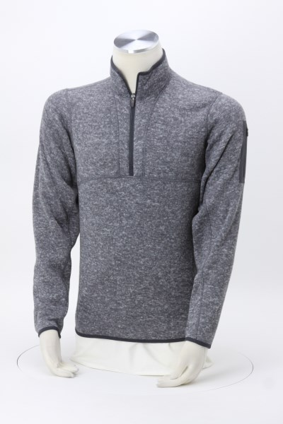 Antigua Fortune Heather Fleece Pullover - Men's 360 View