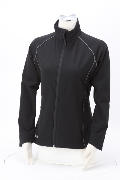 FILA Sofia Raglan Soft Shell Jacket - Ladies' 360 View