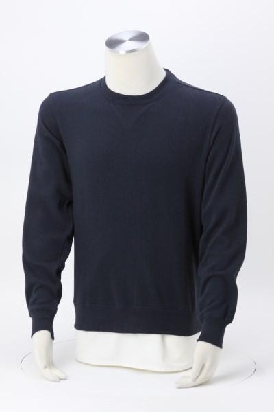 Premium Cotton Fleece Crew Sweatshirt 360 View