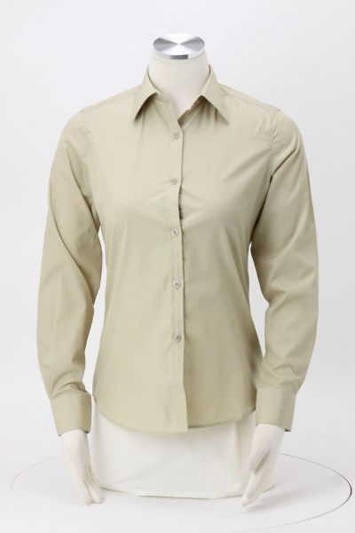 Blended Poplin Shirt - Ladies' 360 View