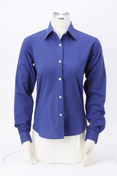 Velocity Repel & Release Oxford Shirt - Ladies' 360 View