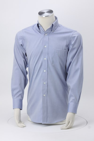 """Eagle Pinpoint Oxford Shirt- Men's - 37"""" Sleeve 360 View"""