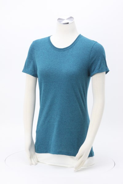 Jerzees Dri-Power Tri-Blend T-Shirt - Ladies' - Embroidered 360 View