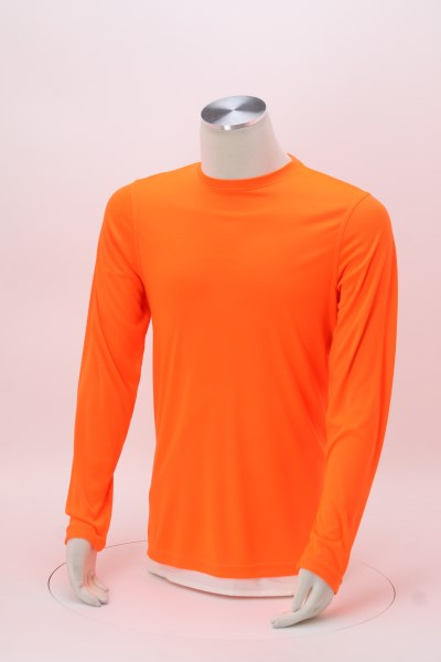 Cool & Dry Basic Performance Long Sleeve Tee - Men's 360 View