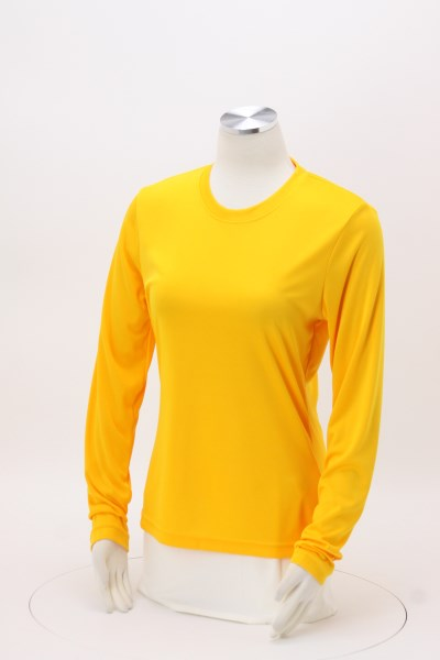Cool & Dry Basic Performance Long Sleeve Tee - Ladies' 360 View