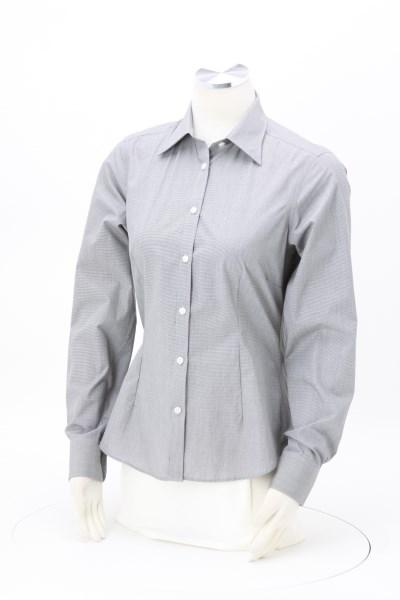 25ddb4ee75d1eb 4imprint.com: Van Heusen Yarn-Dyed Mini Check Shirt - Ladies' 140208-L