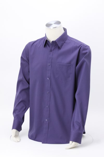 Cromwell Pinpoint Oxford Cotton Shirt - Men's 360 View