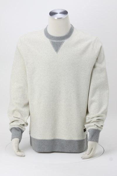 Champion Originals Sueded Fleece Crew Sweatshirt - Embroidered 360 View