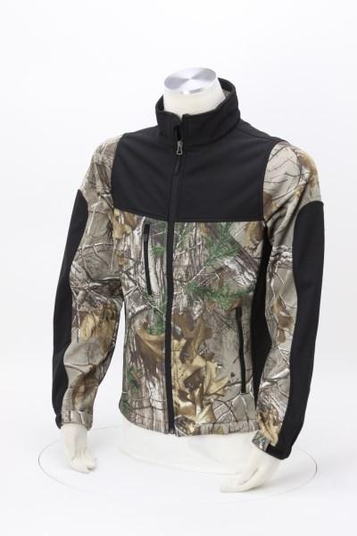 Hunter Soft Shell Camo Jacket 360 View