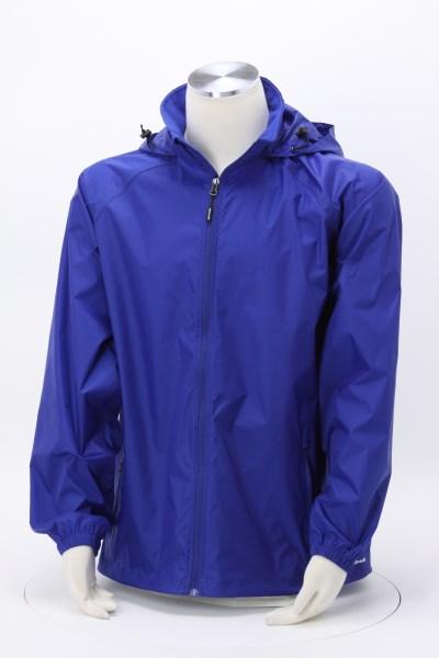 Ripstop Hooded Rain Jacket - Men's 360 View