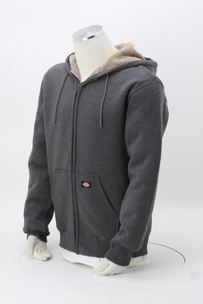 770590a3f463 4imprint.com  Dickies Sherpa-Lined Fleece Hooded Jacket 141596