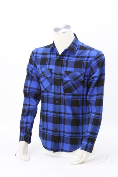 Plaid Flannel Shirt - Men's 360 View